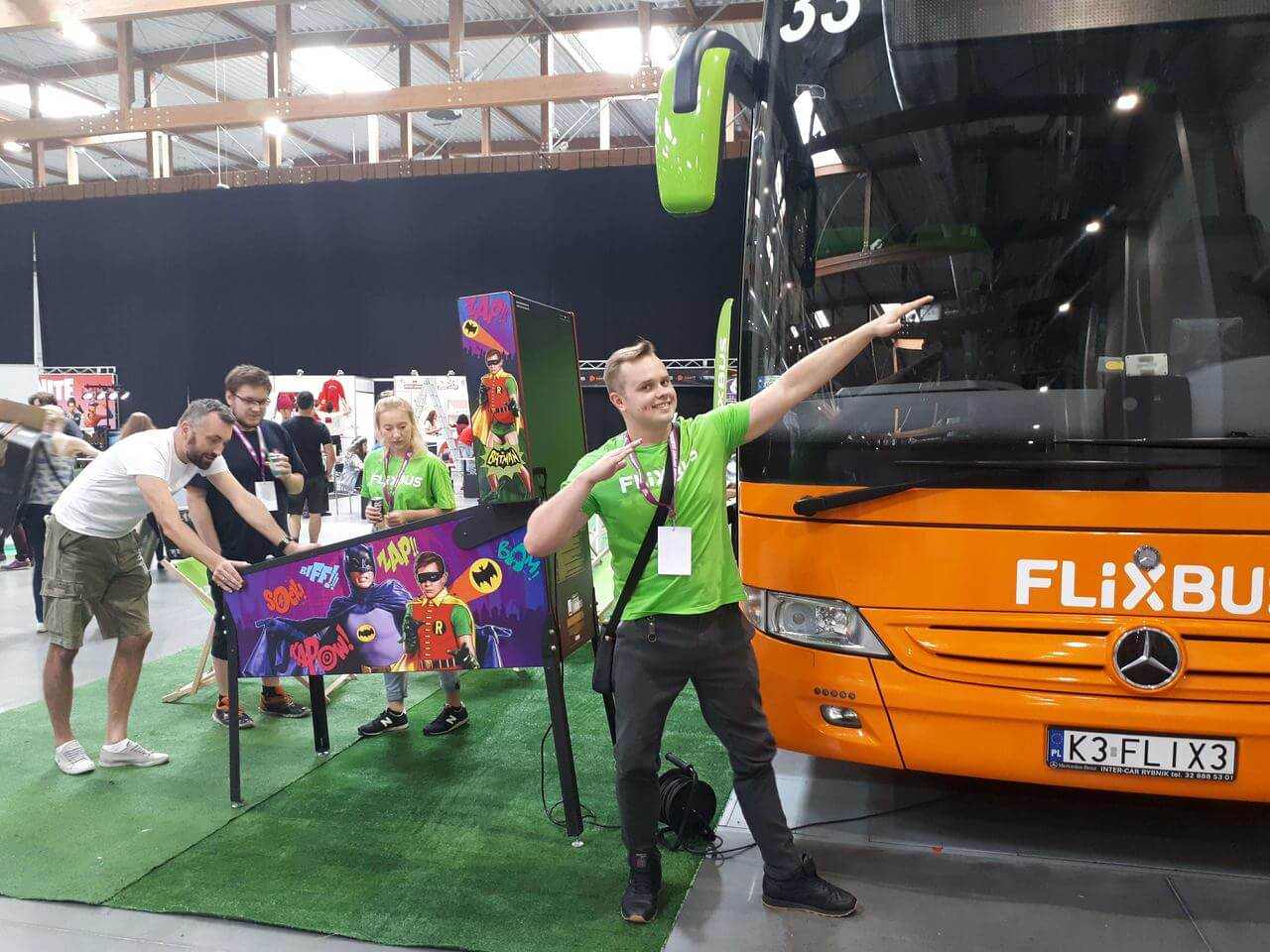 Cracow Game Days i meetYT w EXPO Kraków - Flixbus