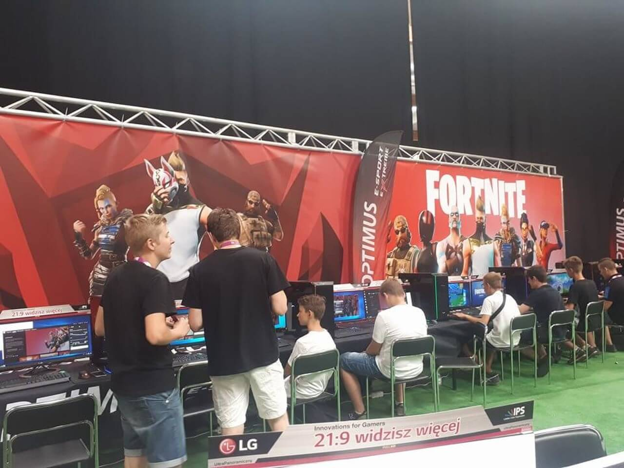 Cracow Game Days i meetYT w EXPO Kraków - strefa Frontnite