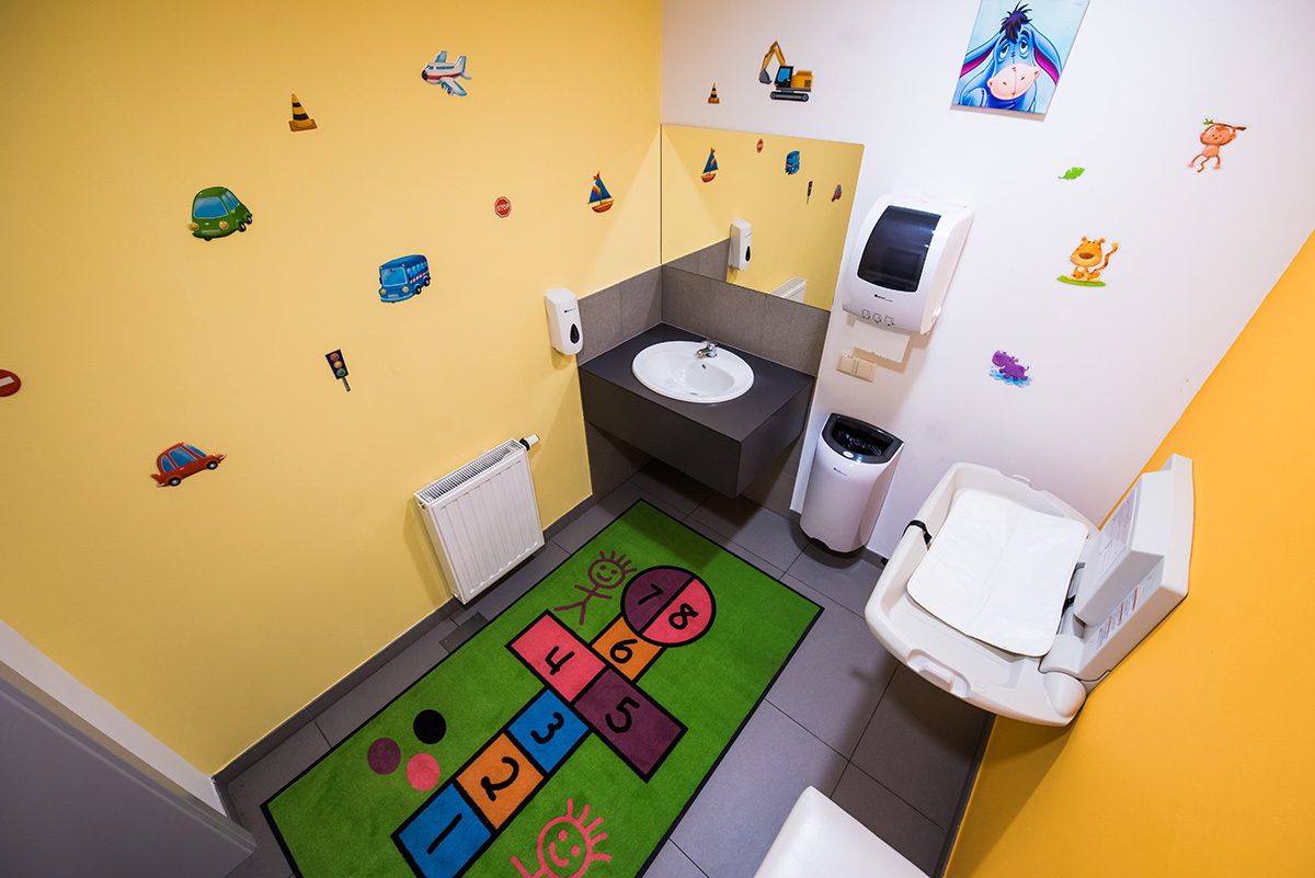 International Exhibition and Convention Centre EXPO Krakow mother and child facilities